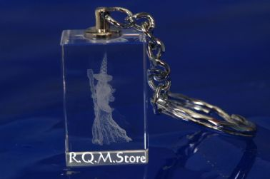 WIZARD CRYSTAL KEY RING (CKR06)